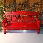 Дача и сад handmade. Livemaster - original item GARDEN BENCH IN THE CHINESE STYLE EMPEROR. Handmade.