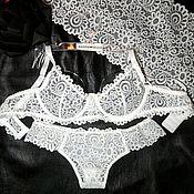 Одежда handmade. Livemaster - original item A set of Lacy lingerie