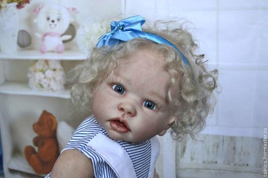 Куклы-младенцы и reborn ручной работы. Ярмарка Мастеров - ручная работа. Купить Кукла реборн из молда Типпи.. Handmade. Бежевый