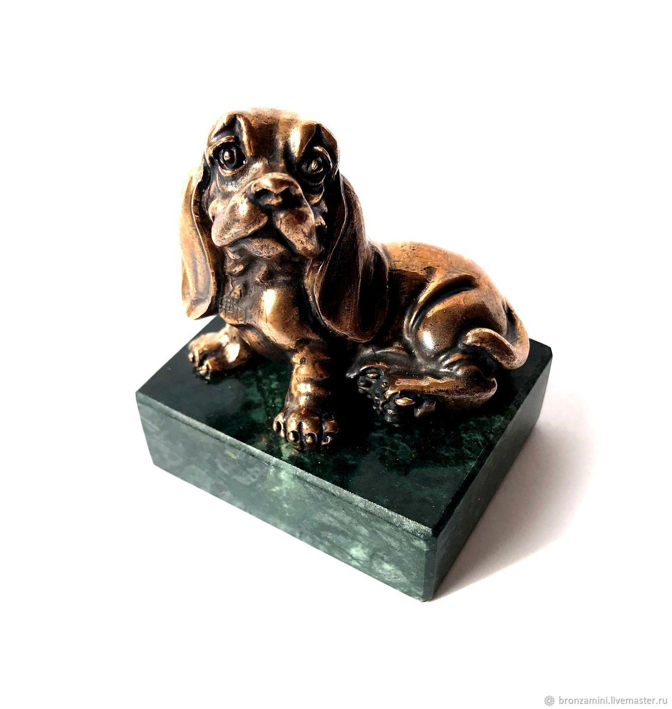 Dog English Cocker Spaniel, figurine, gift dog, souvenir, Figurines, Kislovodsk,  Фото №1