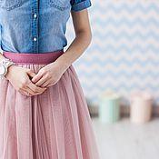 Одежда ручной работы. Ярмарка Мастеров - ручная работа Юбка из фатина, юбка пачка. Handmade.