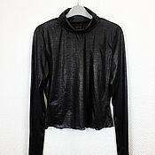 Одежда handmade. Livemaster - original item GA_004 Turtleneck black. Handmade.