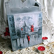 Для дома и интерьера handmade. Livemaster - original item Paris housekeeper pine. Handmade.