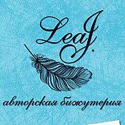"""Дизайн и реклама ручной работы. Ярмарка Мастеров - ручная работа Фирменный стиль для магазинчика """"LeaJewellery"""". Handmade."""