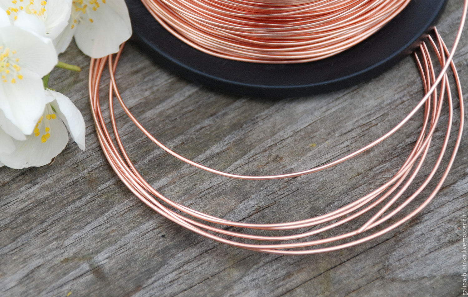 1,0 mm copper wire – shop online on Livemaster with shipping ...