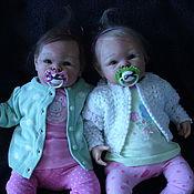 Куклы и игрушки ручной работы. Ярмарка Мастеров - ручная работа Алиночка и Полиночка!!!  Молд пэрис.. Handmade.