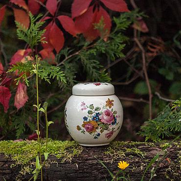 Винтаж ручной работы. Ярмарка Мастеров - ручная работа Чайная баночка Sadler England. Handmade.