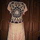 Платья ручной работы. платье вязанное крючком из вискозы. moda-mo. Интернет-магазин Ярмарка Мастеров. Платье вечернее