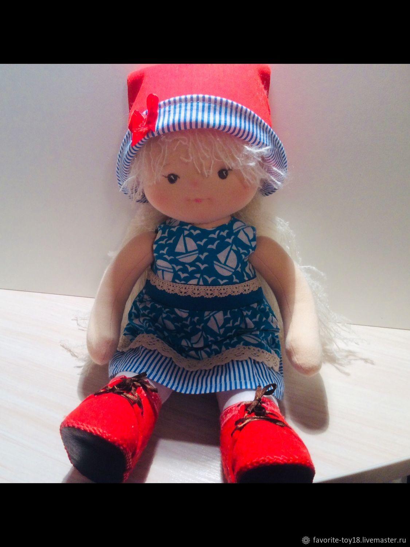Вальдорфская кукла Красная Шапочка, Вальдорфские куклы и звери, Москва,  Фото №1