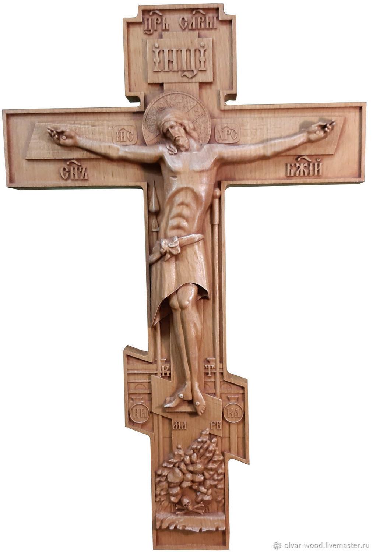 Крест резной, Иконы, Москва,  Фото №1