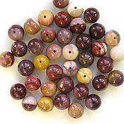 Материалы для творчества handmade. Livemaster - original item Jasper beads 9-10mm. Handmade.