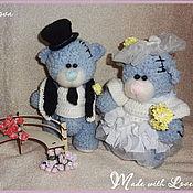 Куклы и игрушки ручной работы. Ярмарка Мастеров - ручная работа Свадебные Мишки Тедди. Handmade.