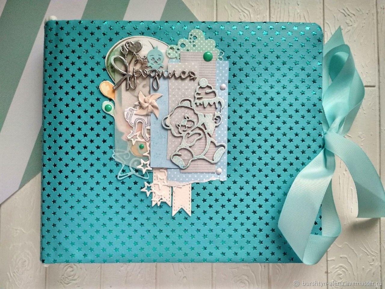 Детский альбом, альбом мальчик, детский альбом голубой, Фотоальбомы, Пинск,  Фото №1