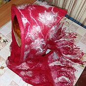 Аксессуары handmade. Livemaster - original item Hood-scarf-hood.. Handmade.