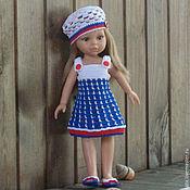 Куклы и игрушки ручной работы. Ярмарка Мастеров - ручная работа Комплект одежды для куклы Паола Рейна/Paola Reina. Handmade.
