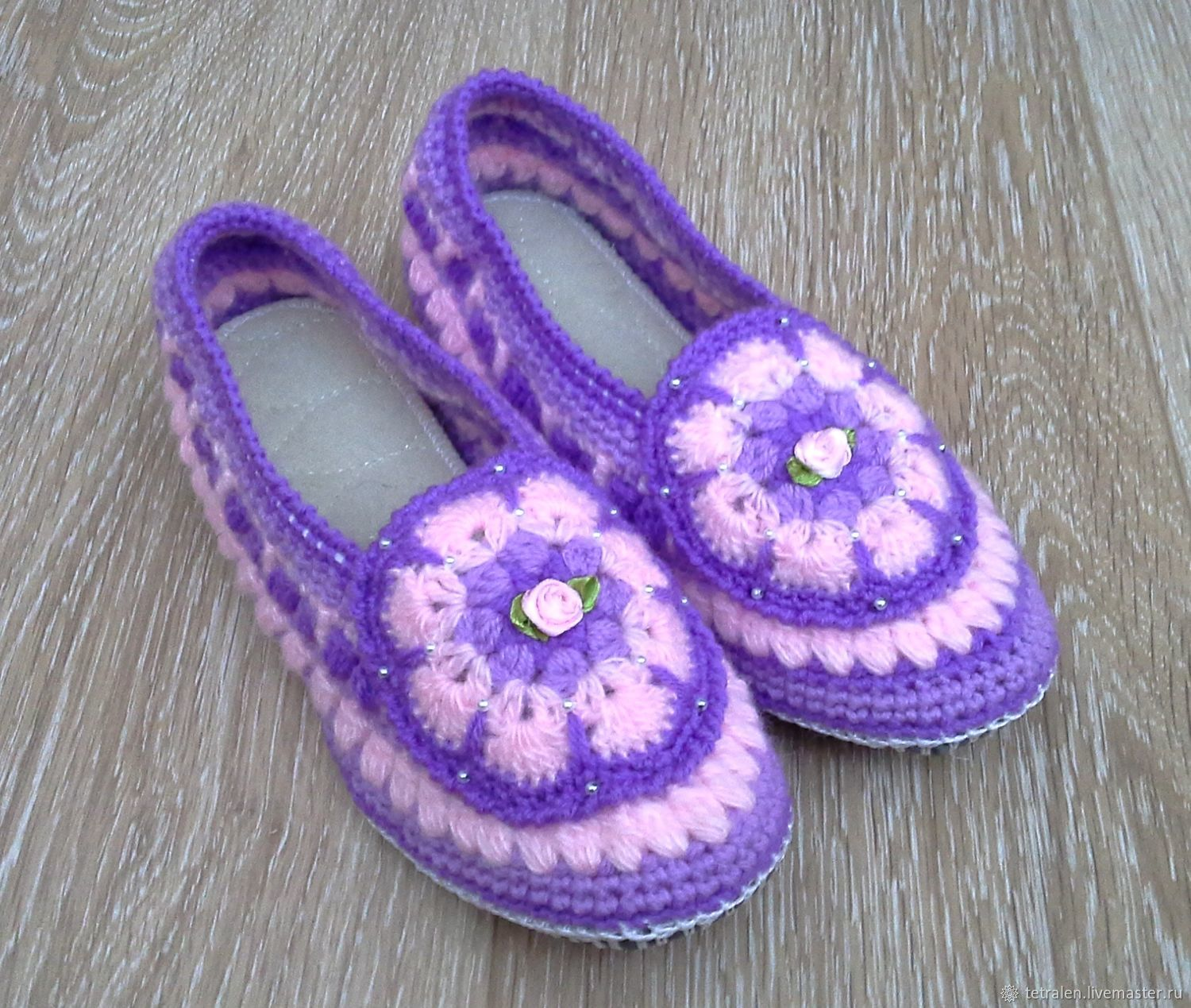 d4d950ec65084b Online shopping on Handmade Shoes handmade. Order Knitted Slippers  Thumbelina. Knitted stuff from Svetlana. Livemaster.