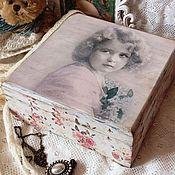 Для дома и интерьера ручной работы. Ярмарка Мастеров - ручная работа Lilacs and Roses шкатулка. Handmade.