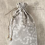 Для дома и интерьера ручной работы. Ярмарка Мастеров - ручная работа Льняной мешочек для хлеба или трав.. Handmade.