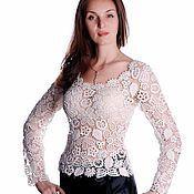 Одежда ручной работы. Ярмарка Мастеров - ручная работа Авторская блуза. Handmade.