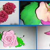 Украшения ручной работы. Ярмарка Мастеров - ручная работа Цветов много не бывает...... Handmade.