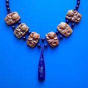 Украшения ручной работы. Ярмарка Мастеров - ручная работа Голубой Нил. Handmade.