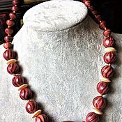 Работы для детей, handmade. Livemaster - original item beads: Beads of exotic and valuable breeds of trees.Rosewood Santos. Handmade.