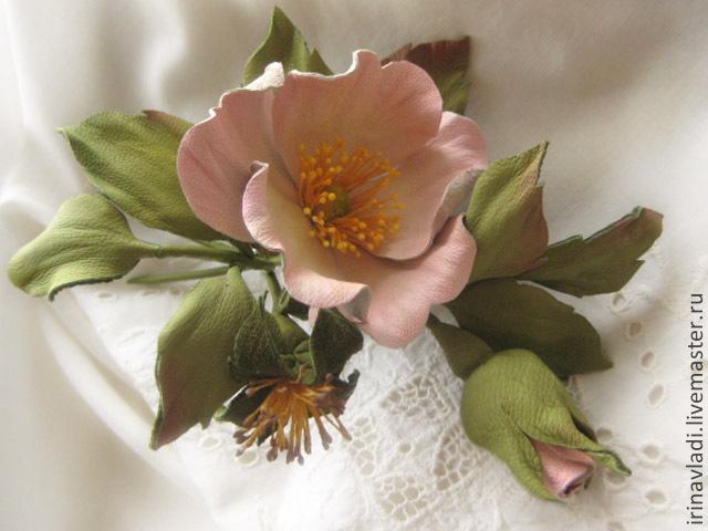 rose brooch Rose brooch Wedding brooch Pink Rose leather Wedding brooch White Rose leather leather brooch White rose Pink Rose Brooch