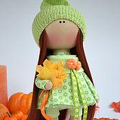 Куклы и игрушки ручной работы. Ярмарка Мастеров - ручная работа Интерьерная текстильная кукла-девочка Оливия. Handmade.