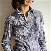"""Одежда ручной работы. Ярмарка Мастеров - ручная работа Жакет-рубашка """"Бархат"""". Handmade."""