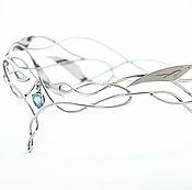 Украшения ручной работы. Ярмарка Мастеров - ручная работа Венец с каплей. Handmade.