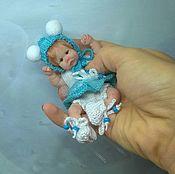 """Куклы и игрушки ручной работы. Ярмарка Мастеров - ручная работа """"Патрисия""""  младенец из силикона 11 см.. Handmade."""