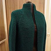 """Одежда ручной работы. Ярмарка Мастеров - ручная работа Кардиган """"Изумруд"""". Handmade."""