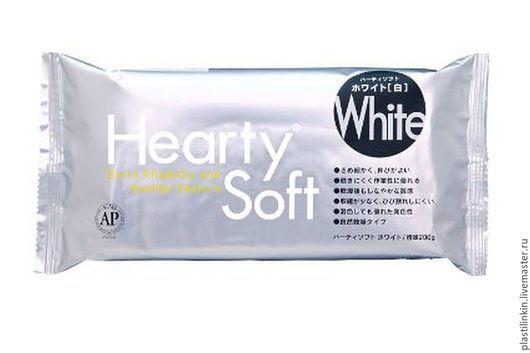 Для украшений ручной работы. Ярмарка Мастеров - ручная работа. Купить Полимерная глина Hearty soft. Handmade. Белый