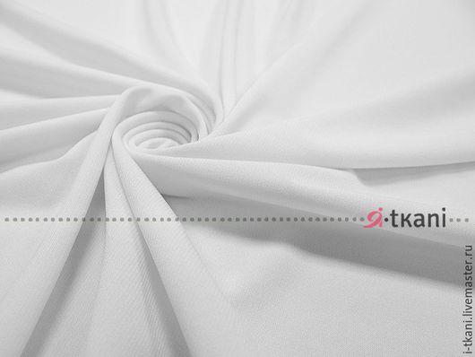001-021 Трикотаж масло тёплое(матовое) Цвет `белый` Корея 440руб  Плотность 330г  Ширина 140см