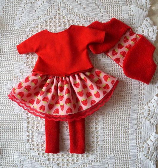 Одежда для кукол ручной работы. Ярмарка Мастеров - ручная работа. Купить Комплект для куклы. Одежда для куклы. Кукольная одежда.. Handmade.