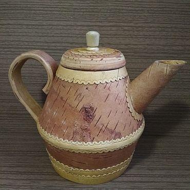 """Посуда ручной работы. Ярмарка Мастеров - ручная работа Чайники """"Семейный"""". Handmade."""