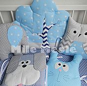 Для дома и интерьера handmade. Livemaster - original item Pillows for a cot. Handmade.