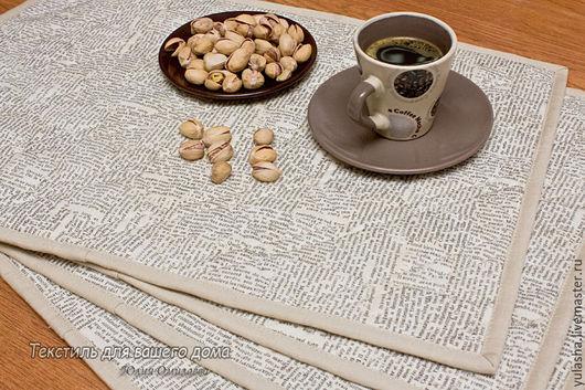 Красивые декоративные салфетки для сервировки стола. Ланчматы в подарок  для своей кухни или кухни друзей. Красивые практичные подарки и сувениры. Подарок на Новый год Петуха