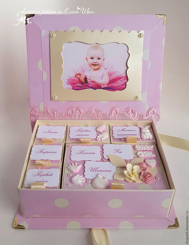 Как сделать коробочку для новорожденной