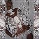 """Одежда и аксессуары ручной работы. Ярмарка Мастеров - ручная работа. Купить """"Crystal Butterfly"""". Handmade. Бабочка, кружевная бабочка"""