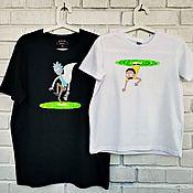 Сувениры и подарки handmade. Livemaster - original item Paired T-shirts