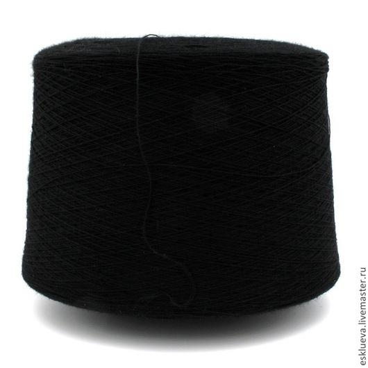 Вязание ручной работы. Ярмарка Мастеров - ручная работа. Купить 25% Ангора 50% Меринос 25% Вискоза. Handmade. Черный