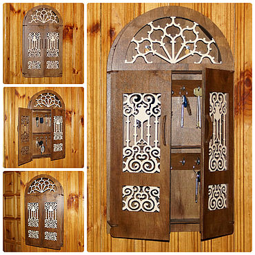 For home and interior handmade. Livemaster - original item The housekeeper is great with the doors. Adding a surname is free of charge.. Handmade.