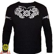 Русский стиль handmade. Livemaster - original item T-shirt insulated
