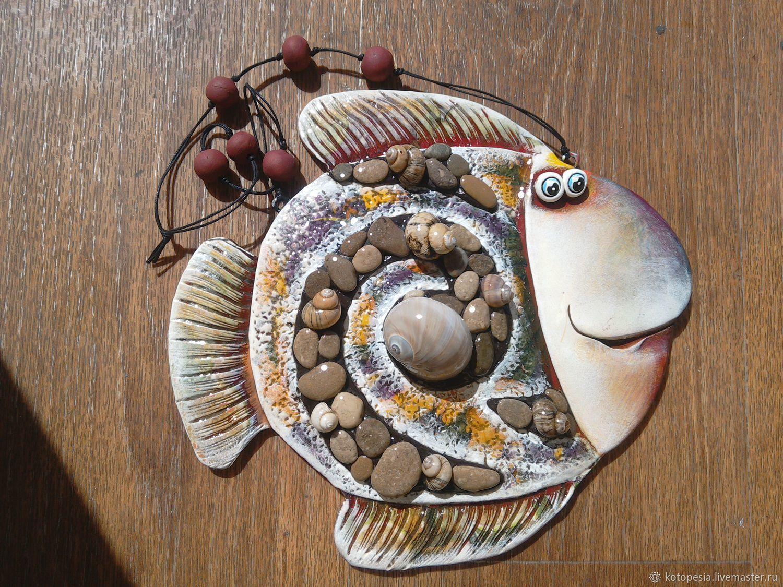 Панно рыба своими руками