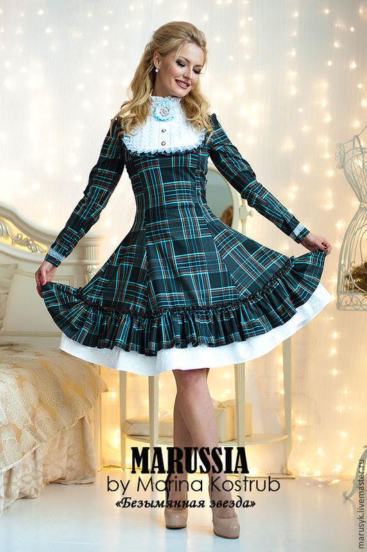 Платья ручной работы. Ярмарка Мастеров - ручная работа. Купить Платье БЗ-27. Handmade. Комбинированный, платье на праздник, сетка