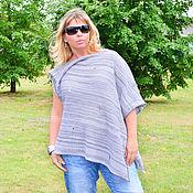 Одежда handmade. Livemaster - original item Boho jacket oversize transformer Laksheri Ragged vest for women. Handmade.