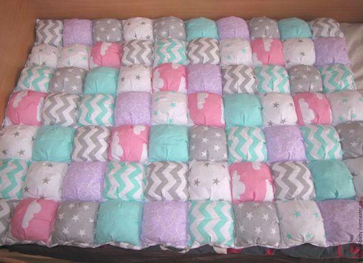 Для новорожденных, ручной работы. Ярмарка Мастеров - ручная работа. Купить Одеяло бон-бон. Handmade. В кроватку