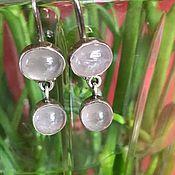 Винтаж handmade. Livemaster - original item Amethyst earrings, silver, Holland. Handmade.