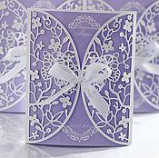 handmade. Livemaster - original item Wedding invitations